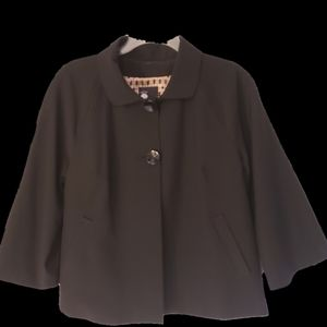 Bllack Swing Jacket by First Opinion Size 12